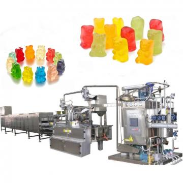 Sweet Bear Candy Production Line and Snack Jelly Gummy Candy Making Machine