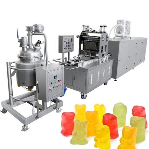 Small QQ candy making machine /Jelly Gummy bear production line /CBD candy manufacture maker in China