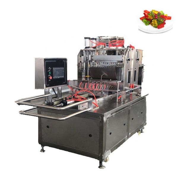 Fruit Gummy Candy Making Machines/Gummy Jelly Candy Depositor Production Line