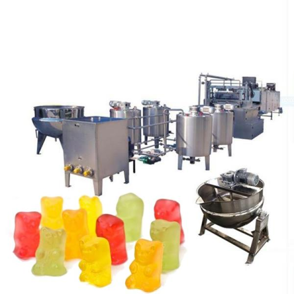 Nonstick Food Grade Gummy Bear Candy Molds Silicone Chocolate Baking Mold Trays with 50 Cavities for Candy Ice Cube Jelly